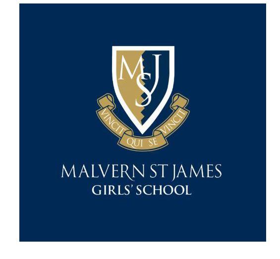Malvern girls school logo