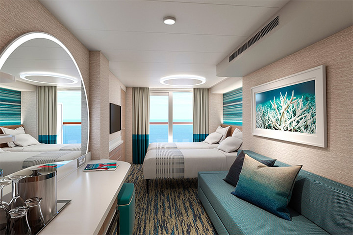 Carnival Cruise Line S Newest Ship Features Dca S Stateroom Design Dca Design International