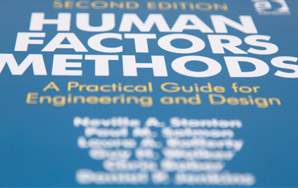 Human factors methods book 2013