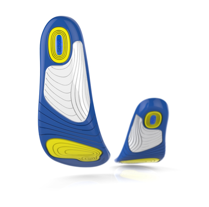 Scholl GelActiv Insoles In Walking Action