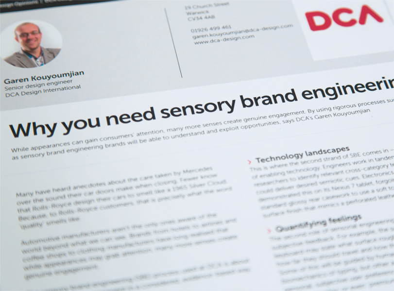 sensory brand engineering article