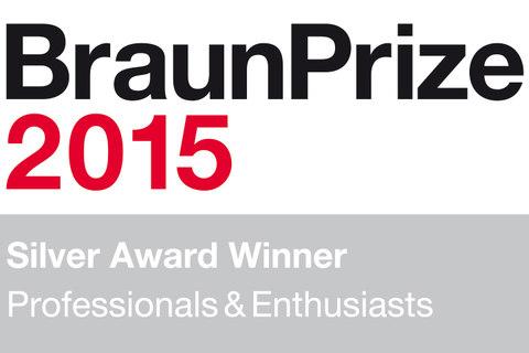 Braun prize logo 2015