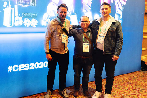 The syncing between man and machine. DCA at CES 2020
