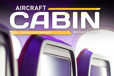 Cabin management magazine front cover