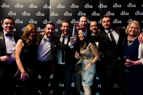 DCA Employees With The DBA Award