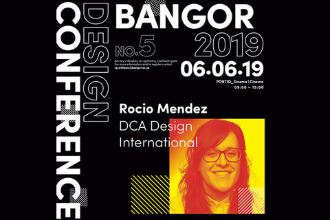Human-centred design talk at the Bangor Design Conference 2019