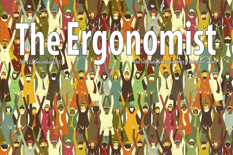 Ergonomist magazine front cover 2013