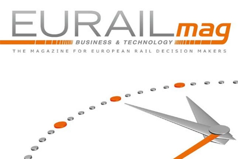 Eurail Magazine Front Cover