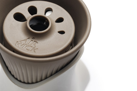 Scented oil warmer for RB designed by DCA Design International