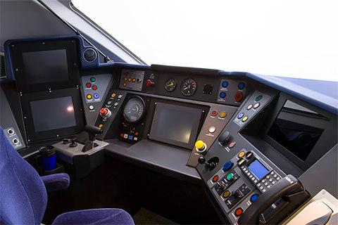 Class 800 Series Driver's Cab designed by DCA Design International
