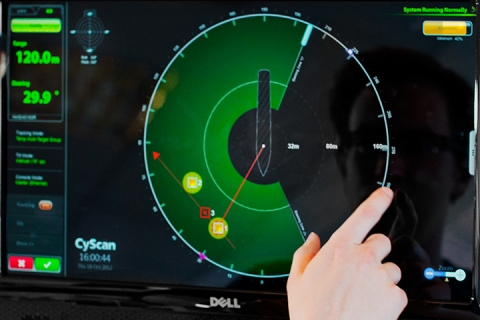 Guidance Marine - Cyscan Dashboard
