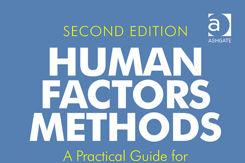 Human factors methods book cover