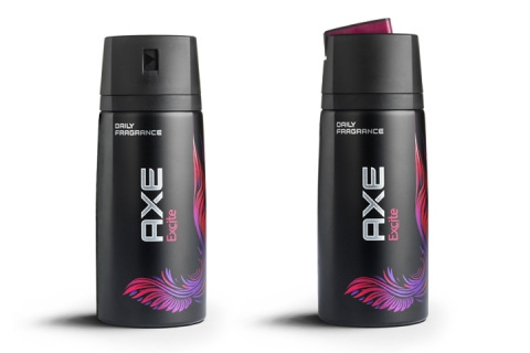 Lynx / Axe side of can profile designed by DCA Design International