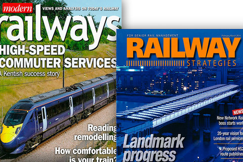 railway magazine covers