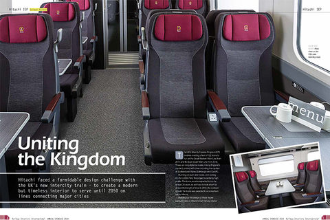 Railway Interiors magazine Hitachi