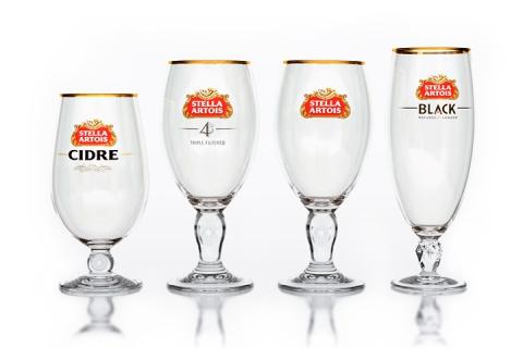 Stella glassware