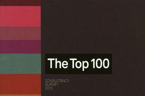 The Top 100 consultancy survey 2013 magazine cover