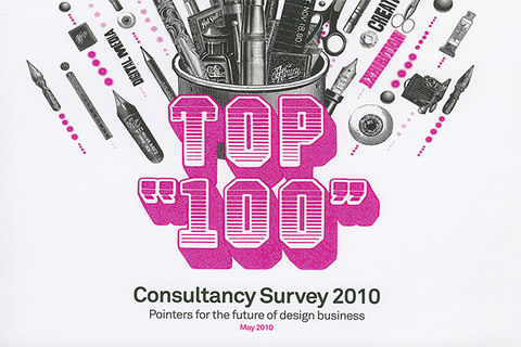Top 100 design consultancy cover 2010