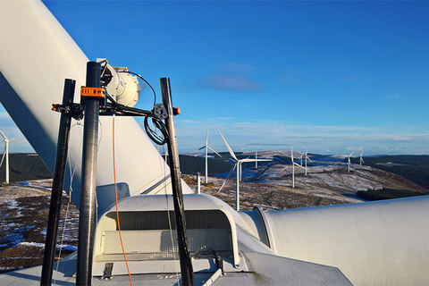Wind Lidar technology optimising wind turbine power generation
