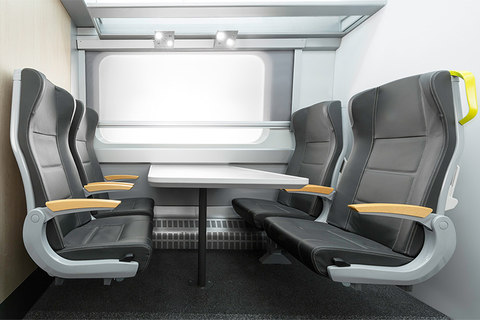 Hitachi - Class 385 Train Interiors for Abellio ScotRail by DCA Design International