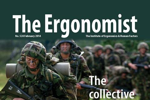 Ergonomist magazine front cover