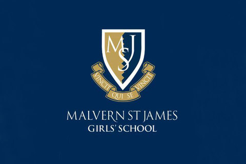 Malvern girls school logo