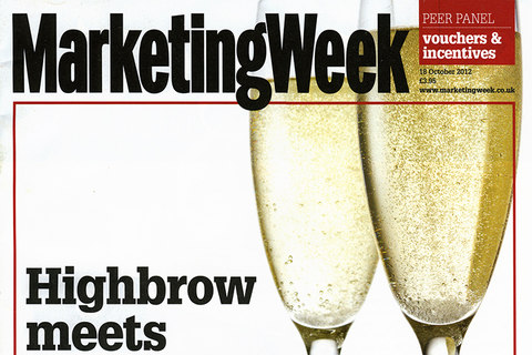 marketing week 2012 cover