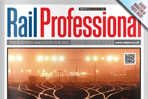 Rail Professional Magazine Front Cover